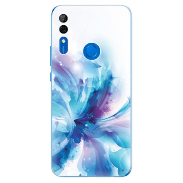 Odolné silikonové pouzdro iSaprio - Abstract Flower - Huawei P Smart Z