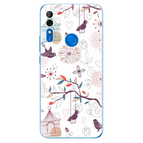 Odolné silikonové pouzdro iSaprio - Birds - Huawei P Smart Z