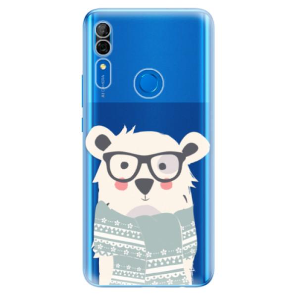 Odolné silikonové pouzdro iSaprio - Bear with Scarf - Huawei P Smart Z