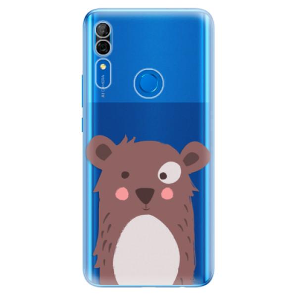 Odolné silikonové pouzdro iSaprio - Brown Bear - Huawei P Smart Z
