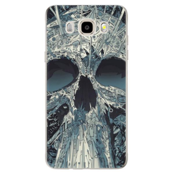 Odolné silikonové pouzdro iSaprio - Abstract Skull - Samsung Galaxy J5 2016