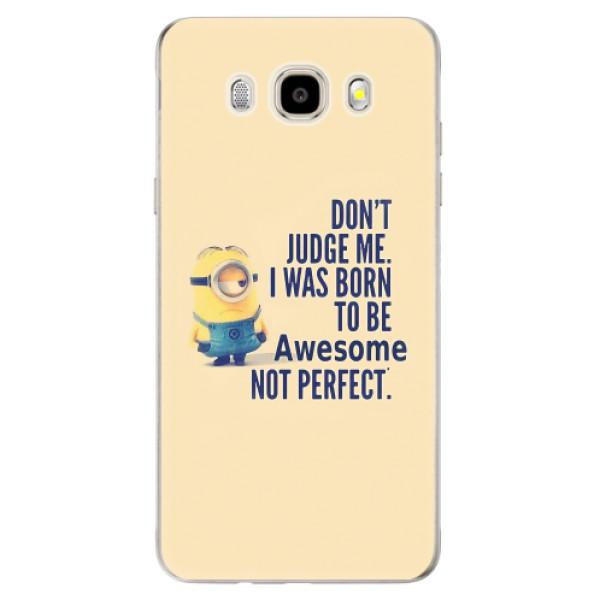 Odolné silikonové pouzdro iSaprio - Be Awesome - Samsung Galaxy J5 2016