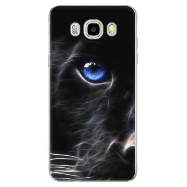Odolné silikonové pouzdro iSaprio - Black Puma - Samsung Galaxy J5 2016
