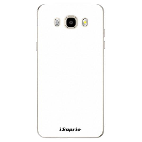 Odolné silikonové pouzdro iSaprio - 4Pure - bílý - Samsung Galaxy J5 2016