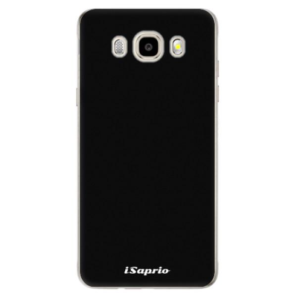 Odolné silikonové pouzdro iSaprio - 4Pure - černý - Samsung Galaxy J5 2016