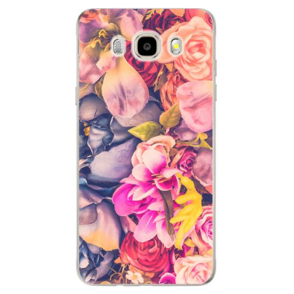 Odolné silikonové pouzdro iSaprio - Beauty Flowers - Samsung Galaxy J5 2016