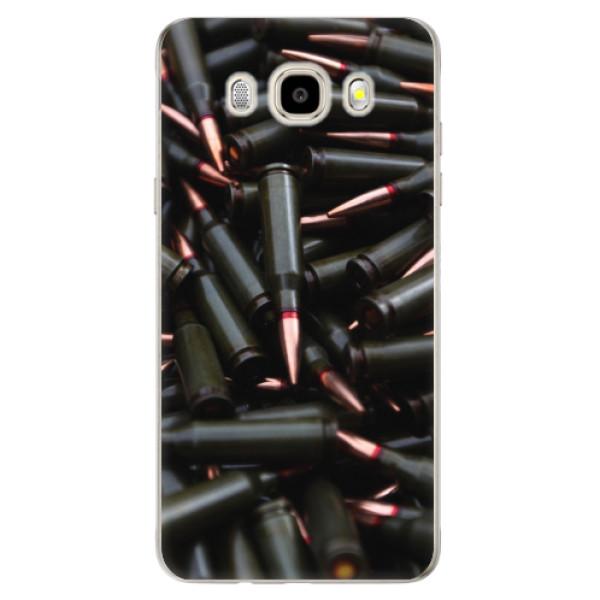 Odolné silikonové pouzdro iSaprio - Black Bullet - Samsung Galaxy J5 2016