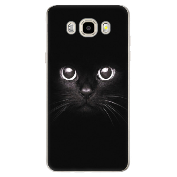 Odolné silikonové pouzdro iSaprio - Black Cat - Samsung Galaxy J5 2016