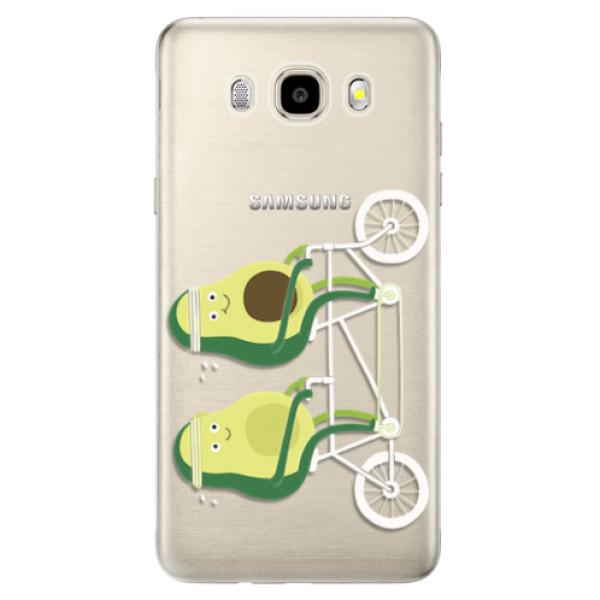 Odolné silikonové pouzdro iSaprio - Avocado - Samsung Galaxy J5 2016