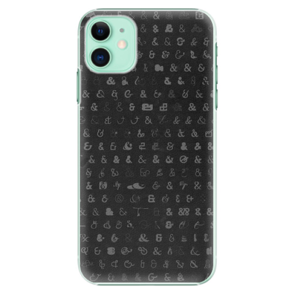 Plastové pouzdro iSaprio - Ampersand 01 - iPhone 11