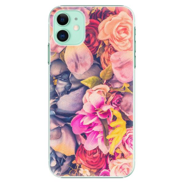 Plastové pouzdro iSaprio - Beauty Flowers - iPhone 11