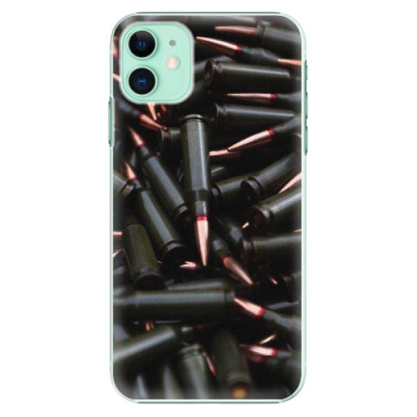 Plastové pouzdro iSaprio - Black Bullet - iPhone 11