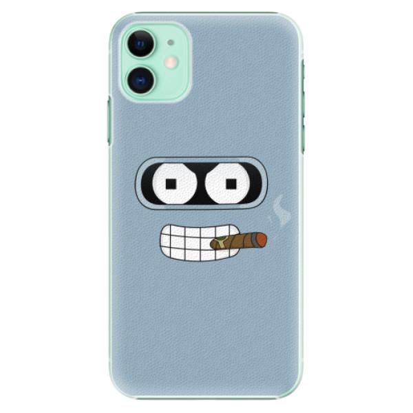 Plastové pouzdro iSaprio - Bender - iPhone 11