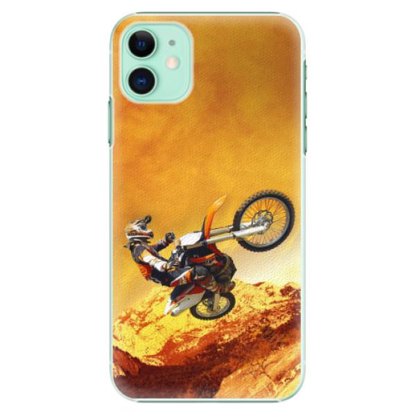 Plastové pouzdro iSaprio - Motocross - iPhone 11