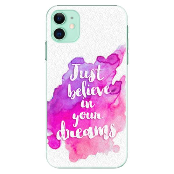 Plastové pouzdro iSaprio - Believe - iPhone 11