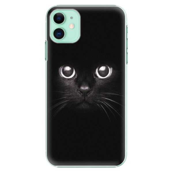 Plastové pouzdro iSaprio - Black Cat - iPhone 11
