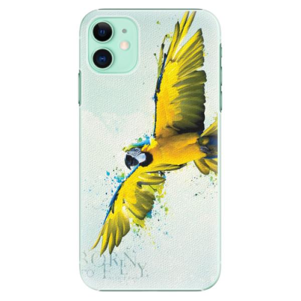 Plastové pouzdro iSaprio - Born to Fly - iPhone 11
