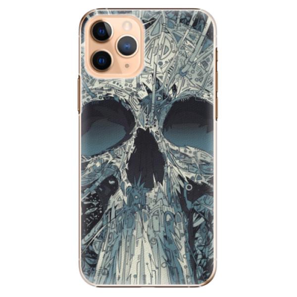Plastové pouzdro iSaprio - Abstract Skull - iPhone 11 Pro