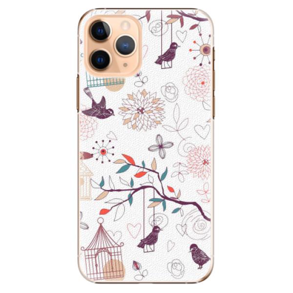 Plastové pouzdro iSaprio - Birds - iPhone 11 Pro
