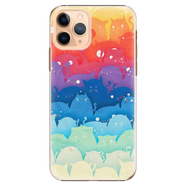Plastové pouzdro iSaprio - Cats World - iPhone 11 Pro