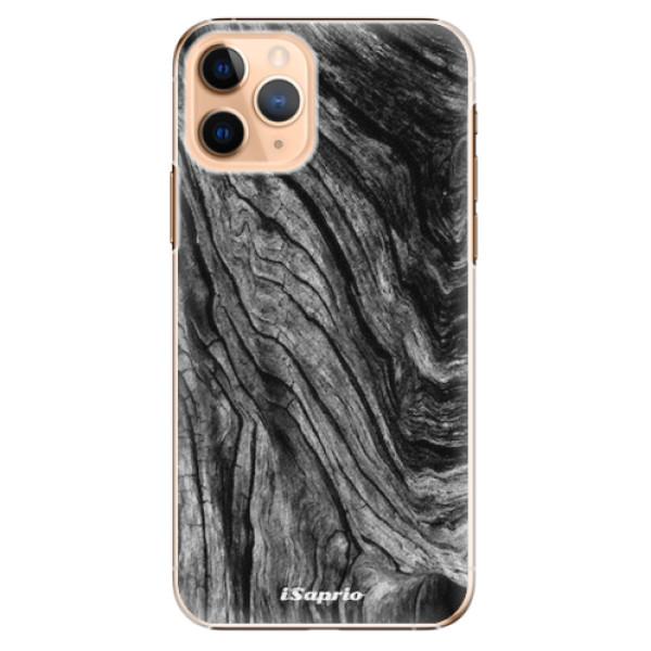 Plastové pouzdro iSaprio - Burned Wood - iPhone 11 Pro