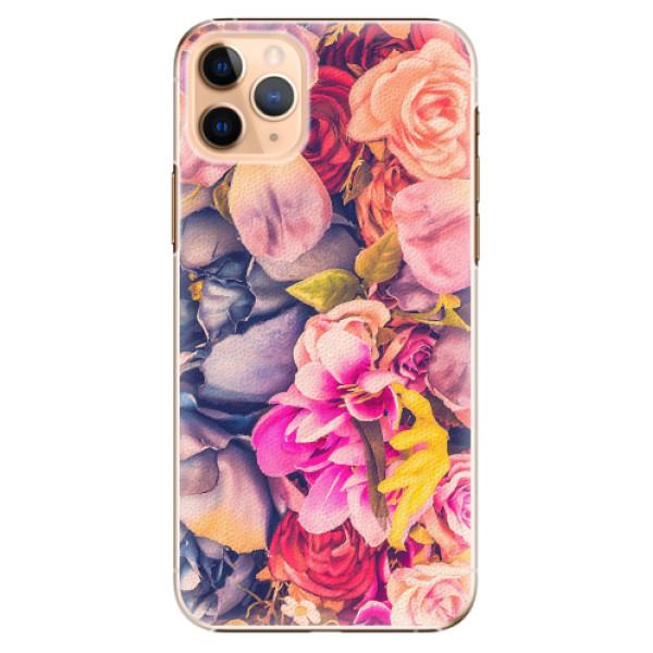 Plastové pouzdro iSaprio - Beauty Flowers - iPhone 11 Pro Max