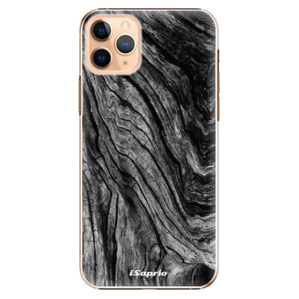 Plastové pouzdro iSaprio - Burned Wood - iPhone 11 Pro Max