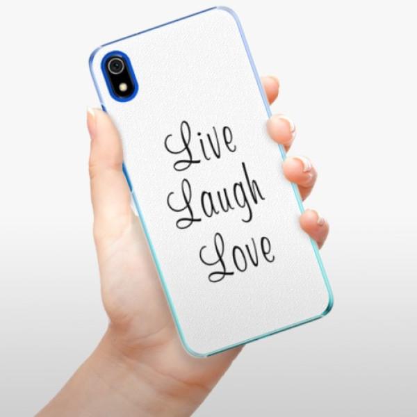 Plastové pouzdro iSaprio - Live Laugh Love - Xiaomi Redmi 7A