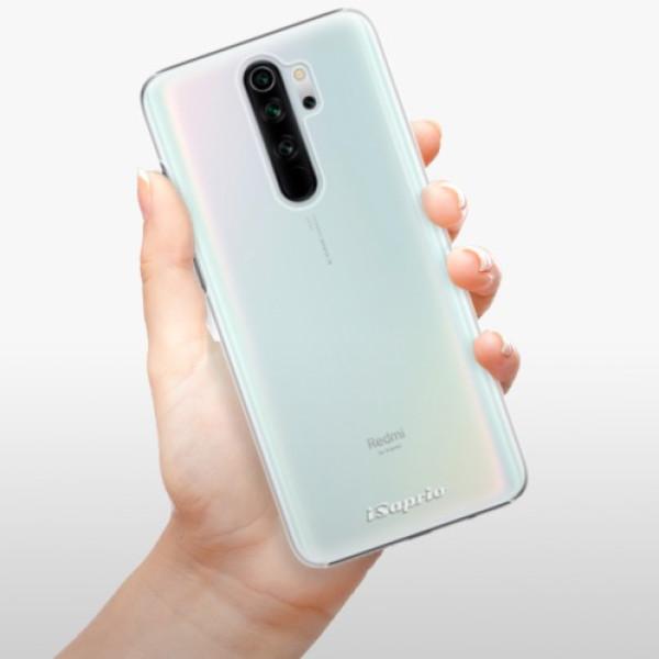 Plastové pouzdro iSaprio - 4Pure - mléčný bez potisku - Xiaomi Redmi Note 8 Pro