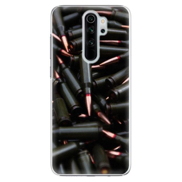 Plastové pouzdro iSaprio - Black Bullet - Xiaomi Redmi Note 8 Pro