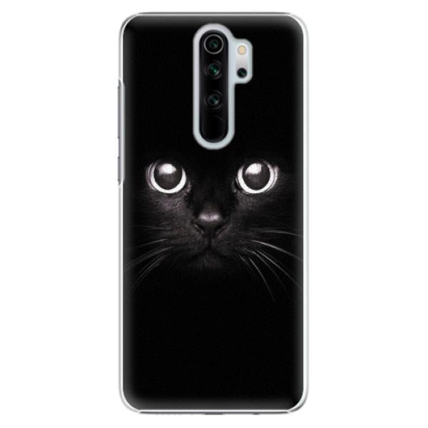 Plastové pouzdro iSaprio - Black Cat - Xiaomi Redmi Note 8 Pro