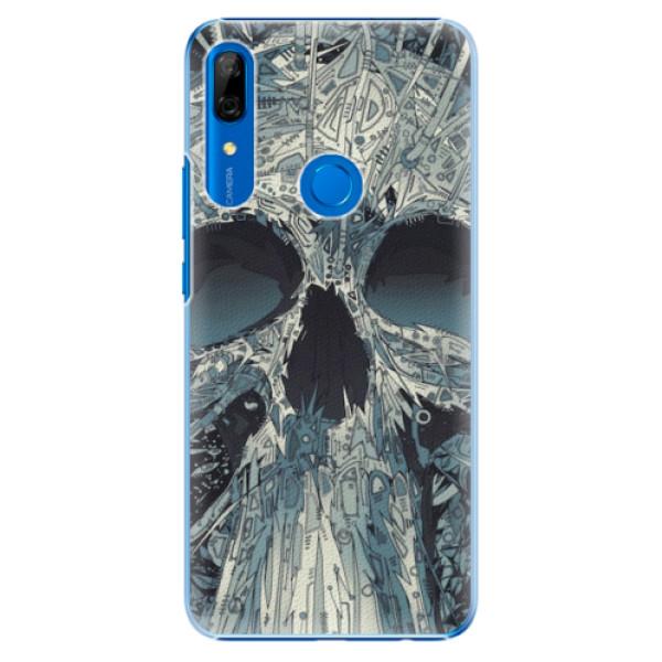 Plastové pouzdro iSaprio - Abstract Skull - Huawei P Smart Z