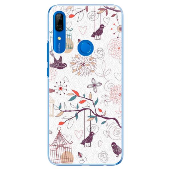 Plastové pouzdro iSaprio - Birds - Huawei P Smart Z