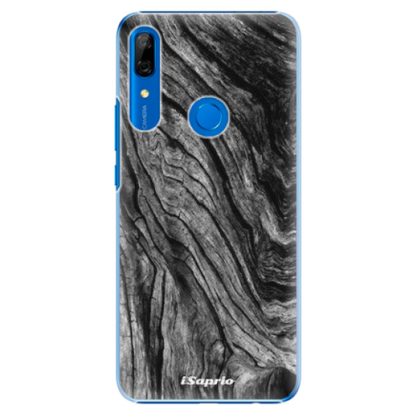 Plastové pouzdro iSaprio - Burned Wood - Huawei P Smart Z
