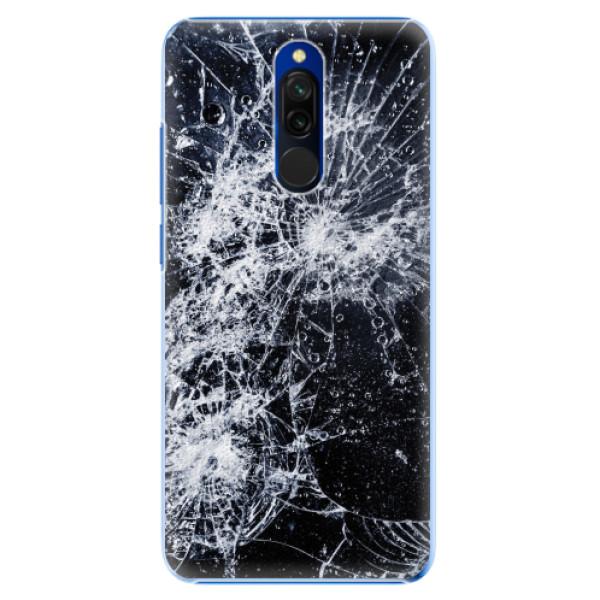 Plastové pouzdro iSaprio - Cracked - Xiaomi Redmi 8