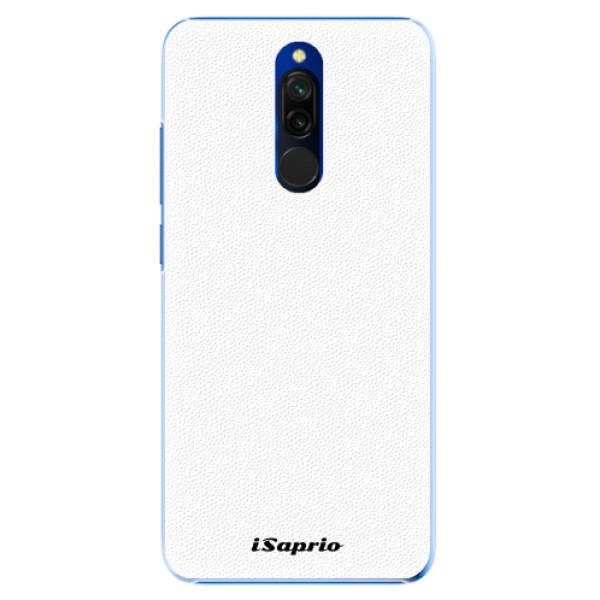 Plastové pouzdro iSaprio - 4Pure - bílý - Xiaomi Redmi 8