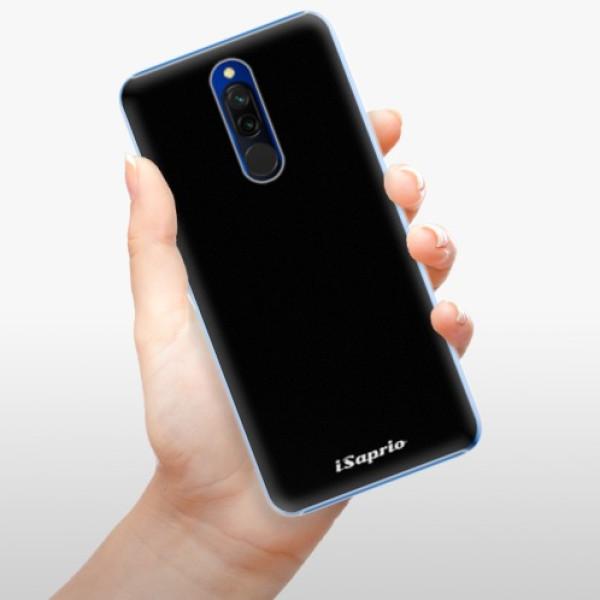 Plastové pouzdro iSaprio - 4Pure - černý - Xiaomi Redmi 8