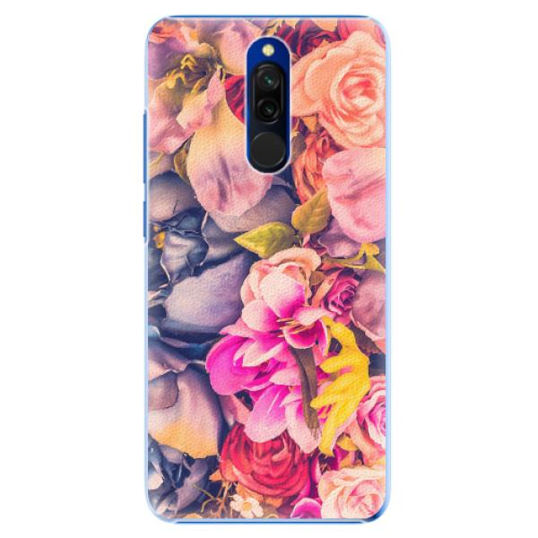 Plastové pouzdro iSaprio - Beauty Flowers - Xiaomi Redmi 8