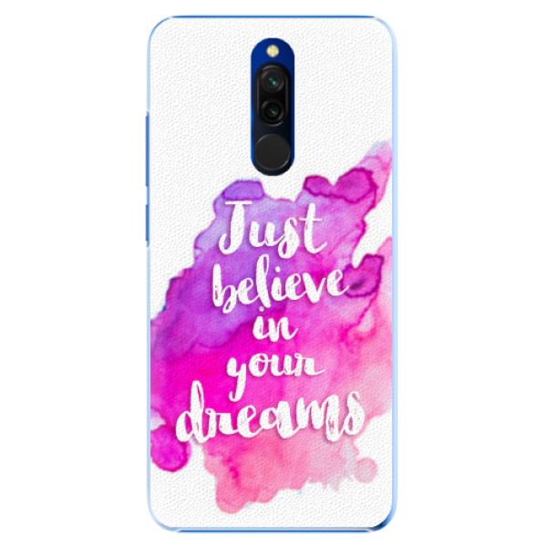 Plastové pouzdro iSaprio - Believe - Xiaomi Redmi 8