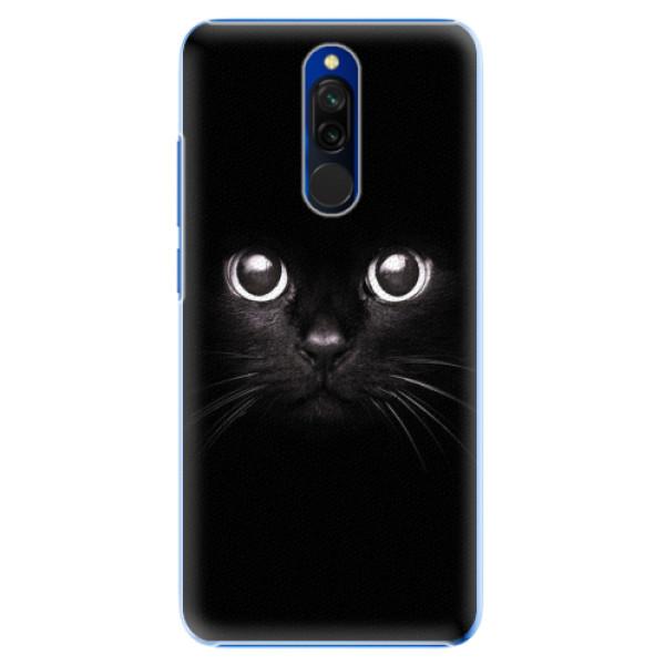 Plastové pouzdro iSaprio - Black Cat - Xiaomi Redmi 8