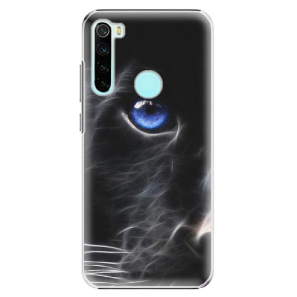 Plastové pouzdro iSaprio - Black Puma - Xiaomi Redmi Note 8