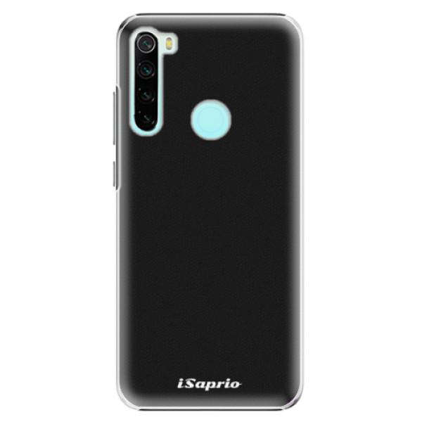 Plastové pouzdro iSaprio - 4Pure - černý - Xiaomi Redmi Note 8