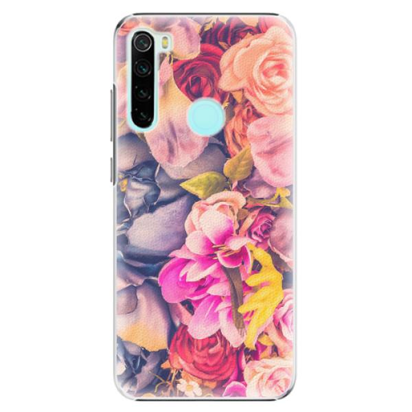 Plastové pouzdro iSaprio - Beauty Flowers - Xiaomi Redmi Note 8