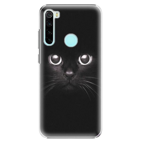 Plastové pouzdro iSaprio - Black Cat - Xiaomi Redmi Note 8