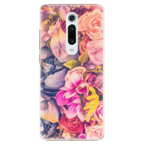 Plastové pouzdro iSaprio - Beauty Flowers - Xiaomi Mi 9T Pro