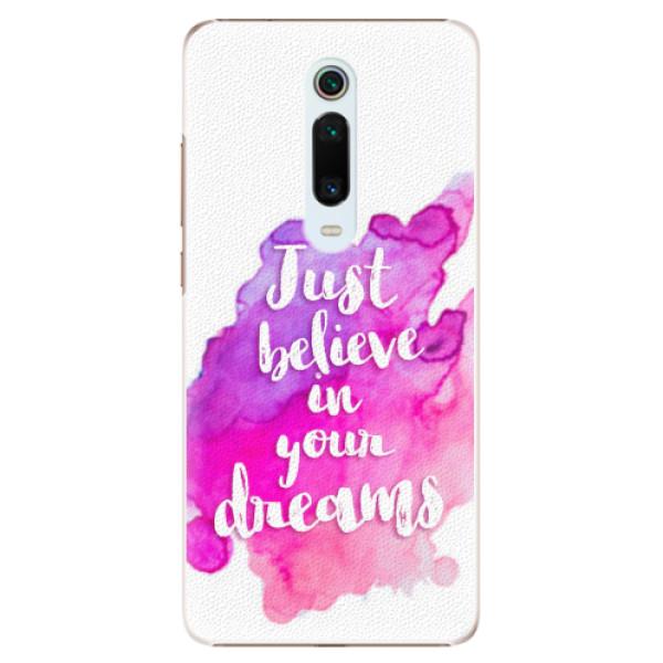 Plastové pouzdro iSaprio - Believe - Xiaomi Mi 9T Pro