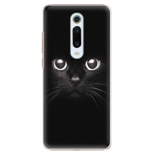 Plastové pouzdro iSaprio - Black Cat - Xiaomi Mi 9T Pro