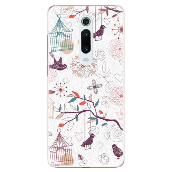 Plastové pouzdro iSaprio - Birds - Xiaomi Mi 9T Pro