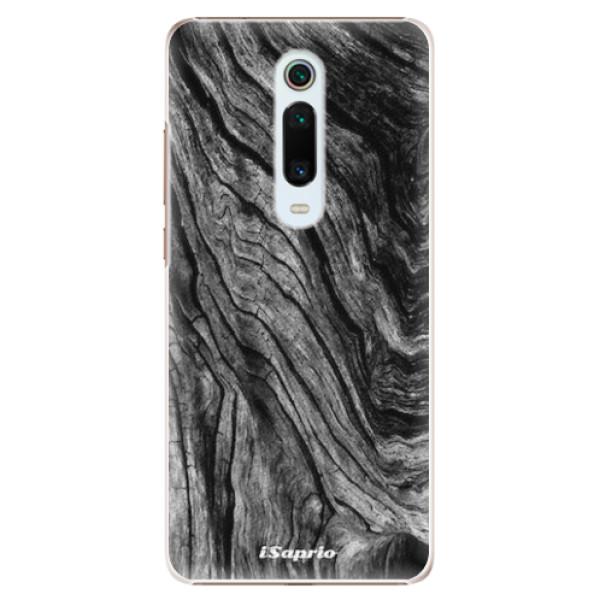Plastové pouzdro iSaprio - Burned Wood - Xiaomi Mi 9T Pro