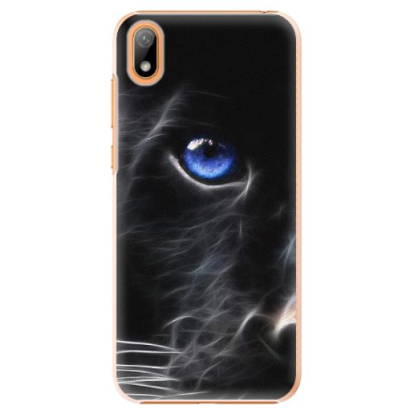 Plastové pouzdro iSaprio - Black Puma - Huawei Y5 2019